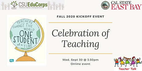 Fall 2020 Kickoff Event: Celebration of Teaching tickets