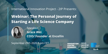 Webinar: The Personal Journey of Starting a Life Science Company tickets