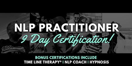 NLP Virtual - October 2020 Practitioner Certification tickets