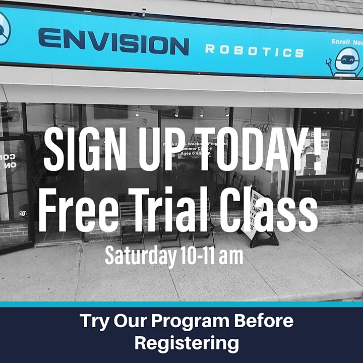 Envision Robotics - In-Person Free Trial  (Thornhill / Markham / Toronto) image