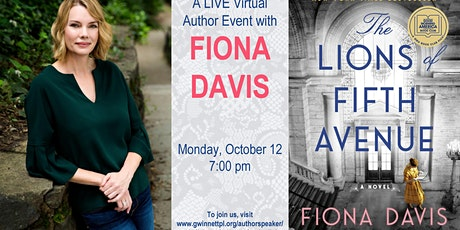 A Live Talk with NY Times Bestselling Author Fiona Davis tickets