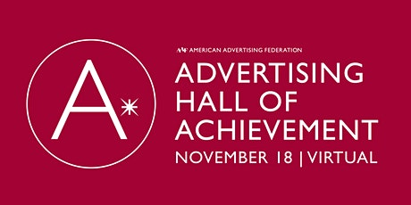 AAF Advertising Hall of Achievement tickets