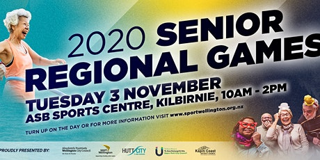 Senior Regional Games 2020 tickets