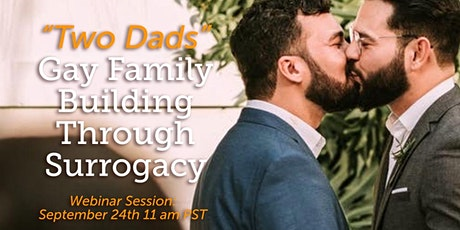 """[Patriot Conceptions] """"Two Dads"""": Gay Family Building Through Surrogacy tickets"""