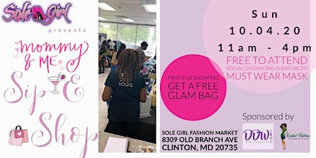 Mommy & Me Sip & Shop tickets