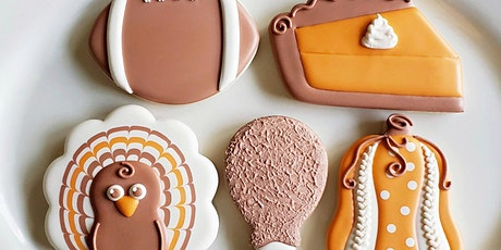 Thanksgiving Day Cookie Decorating Class tickets