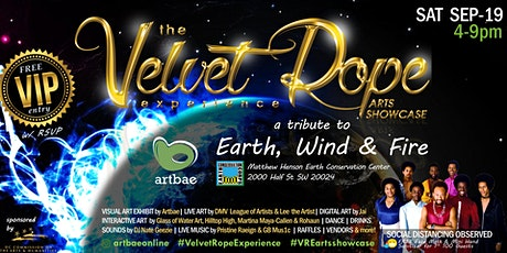 The Velvet Rope Experience Arts Showcase... a tribute to Earth, Wind & Fire tickets