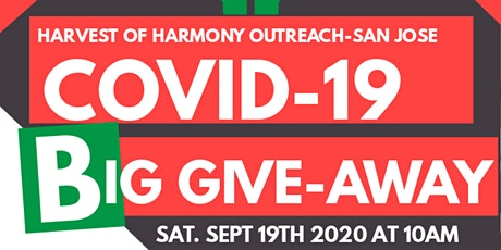 Big COVID-19 Give-Away - San Jose tickets