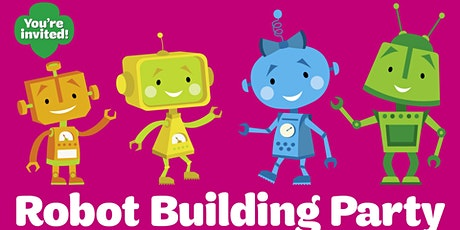 You're Invited!  Virtual Robot Building Party Hosted by Girl Scouts tickets