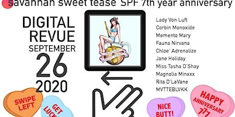 SPF Savannah Sweet Tease 7th Year Anniversary Show tickets