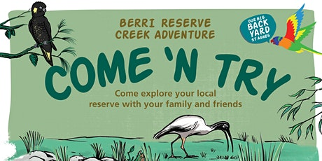 Our Big Backyard St Agnes - Berri Reserve tickets