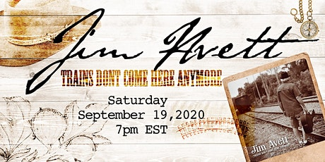 Jim Avett Album Preview - Trains Don't Come Here Anymore tickets