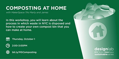 Composting at Home tickets