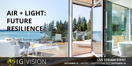 IG VISION | Air + Light: Future Resilience tickets