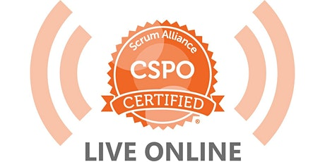 LIVE ONLINE   5-6 OCT Scrum Product Owner (CSPO) Certification   AUSTRALIA tickets
