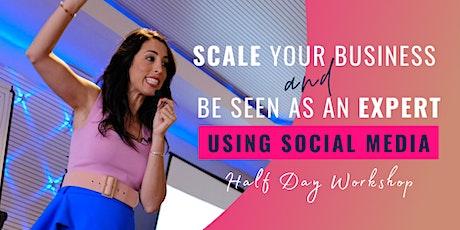 Halfday Workshop: Grow Your Business Through Social Media - Brisbane! tickets