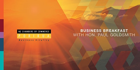 Business Breakfast with Hon. Paul Goldsmith tickets
