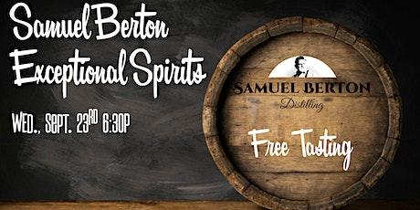 Samuel Berton Exceptional Spirits School tickets