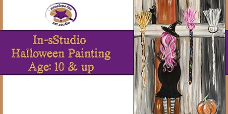 In-Studio - Halloween Paint Party - WITCH tickets