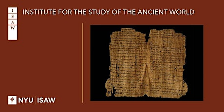 The Education and Miseducation of an Administrator in Late Roman Egypt tickets