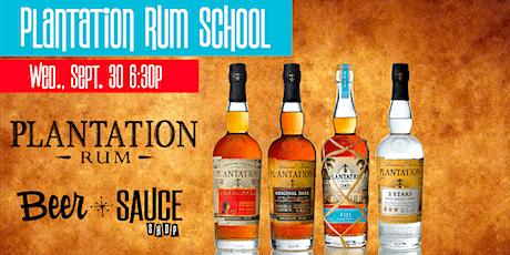Plantation Rum Exceptional Spirits School tickets