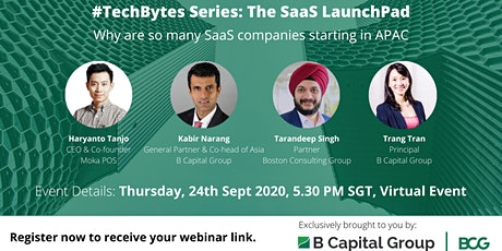 Tech Bytes series: The SaaS launchpad tickets