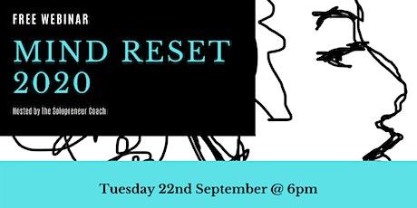 Mind Reset 2020 Webinar tickets