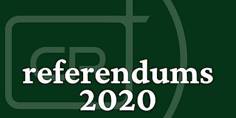 Referendums 2020 tickets