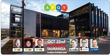 AFQY - Oct 22nd - Tauranga tickets