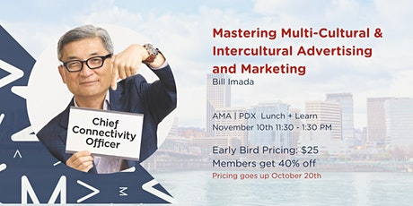 Mastering Multicultural & Intercultural Advertising and Marketing tickets