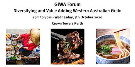 2020 GIWA AGM and GIWA Forum tickets