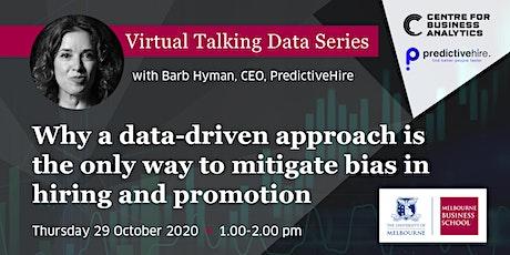 Virtual Talking Data Series: Barb Hyman, CEO, PredictiveHire tickets