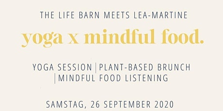 The Life Barn Yoga x Mindful Food Vegan Brunch Tickets