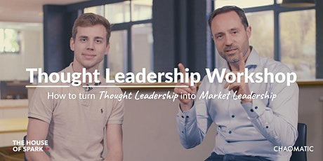 Turn your Expertise into Market Leadership tickets