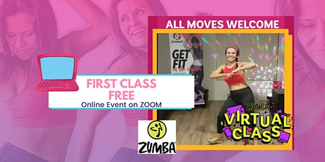 Zumba with RumbaFit Saturday's Live tickets