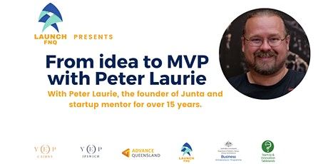 From idea to MVP with Peter Laurie tickets