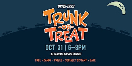 DRIVE-THRU TRUNK-OR-TREAT tickets