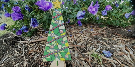 Beginner Mosaics - Rustic Christmas Tree Ornaments tickets