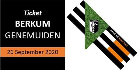 26-09-2020: Berkum 1 - SC Genemuiden 1, aanvang 18:00 uur tickets
