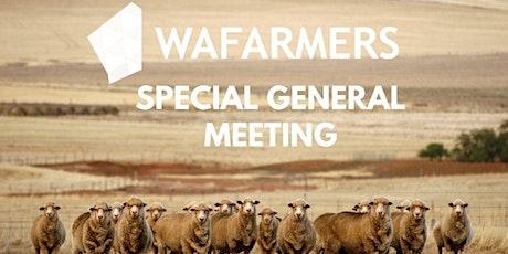 WAFarmers Special AGM tickets