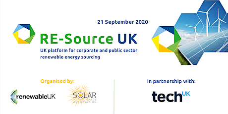 RE-SourceUK Virtual:  Technology Sector in Partnership with TECH UK tickets