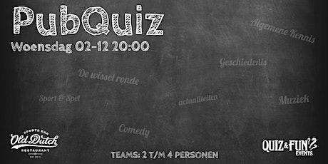 PubQuiz december | Old Dutch tickets