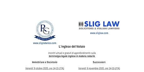 L'inglese del Notaio: terminolgia legale inglese in materia notarile biglietti