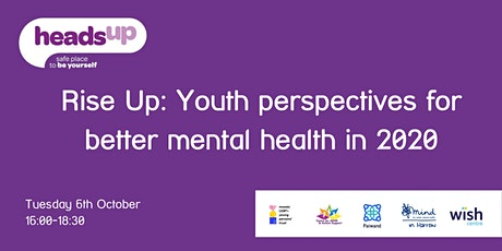 Rise Up: Youth perspectives for better mental health in 2020 tickets