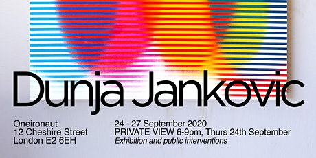 Dunja Jankvovic 'Element of the Game' Private View tickets