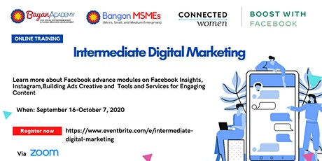 Intermediate Digital Marketing tickets