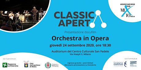 Anteprima docufilm ORCHESTRA IN OPERA tickets