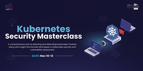 Kubernetes Security Masterclass tickets