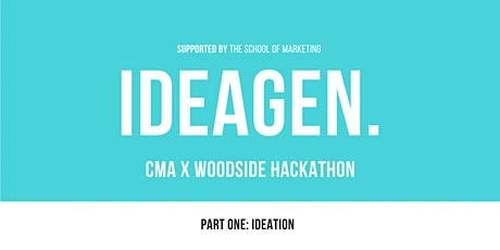 CMA x Woodside IdeaGen | Part One: Ideation Session tickets