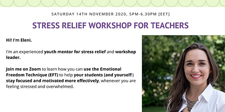 Stress Relief Workshop for Teachers tickets